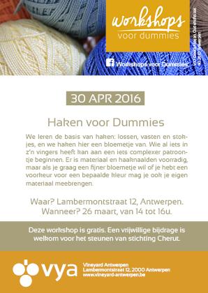 Workshop Haken Vineyard Antwerpen